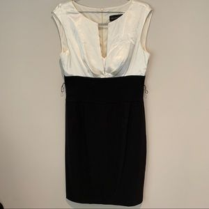 Black & White Connected Apparel Dress